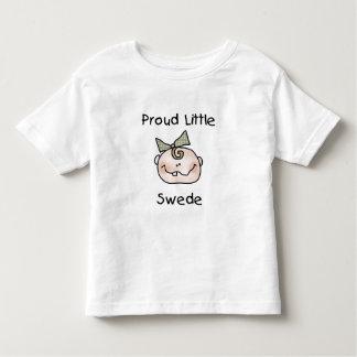 Girl Proud Swedish Baby Toddler T-shirt