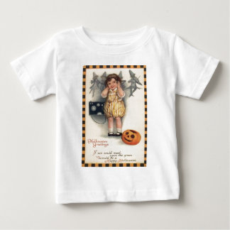 Girl Radio Jack O Lantern Pumpkin Baby T-Shirt