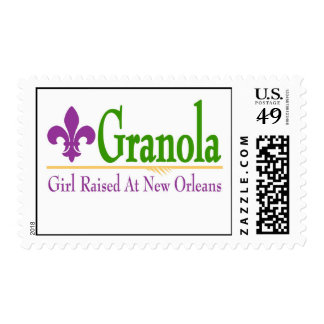 Girl Raised At New Orleans Postage