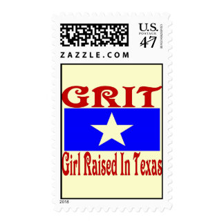 Girl Raised In Texas Postage