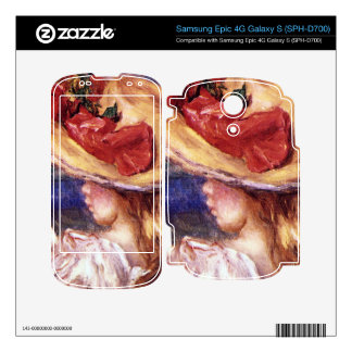 Girl Reading2 by Pierre Renoir Decal For Samsung Epic