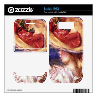 Girl Reading2 by Pierre Renoir Decals For The Nokia E63