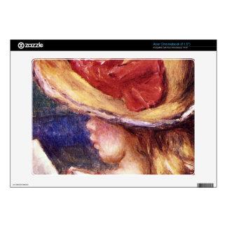 Girl Reading2 by Pierre Renoir Skin For Acer Chromebook