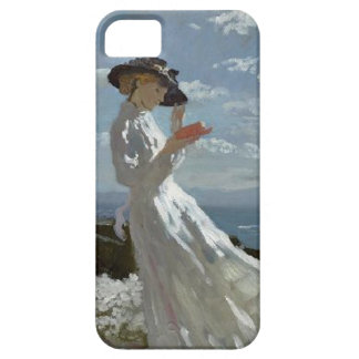 Girl reading at the beach Orpen iPhone 5 iPhone SE/5/5s Case