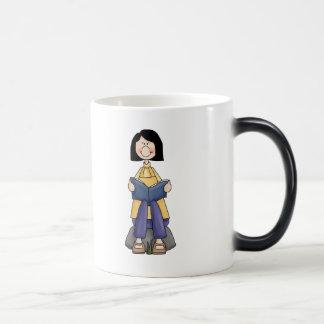 Girl Reading Magic Mug