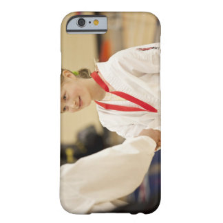 Girl receiving a medal at a Karate championship Barely There iPhone 6 Case