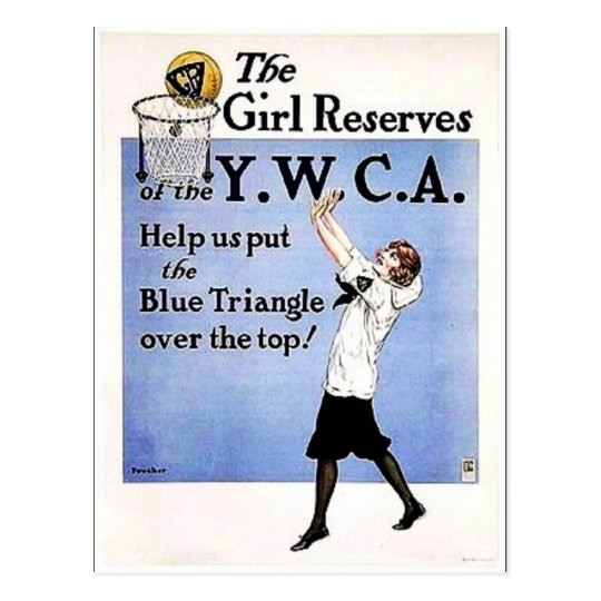 Girl Reserves Postcard