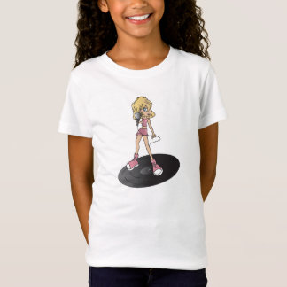 Girl Rock Star Singer T-Shirt