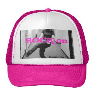 Girl rocker hat