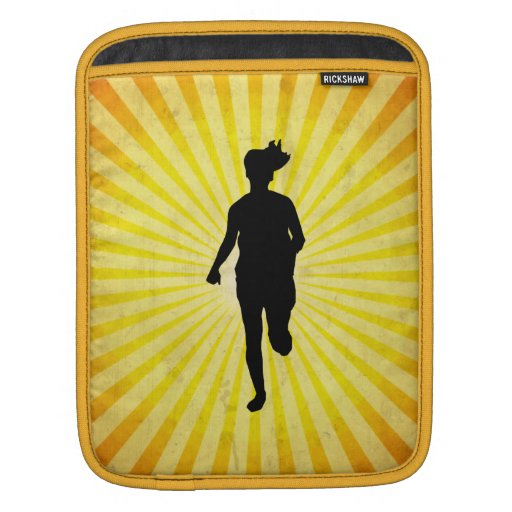 Girl Runner Sleeve For iPads