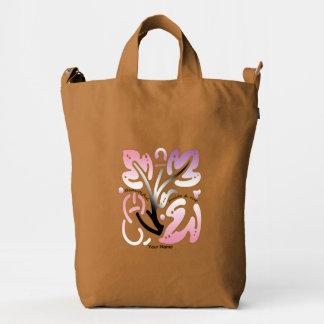 "Girl's ""Beautiful Self-Love Diamond Flower"" Duck Bag"