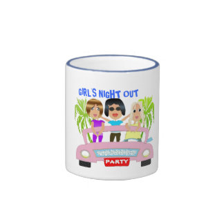Girl s Night Out Coffee Mug Mugs