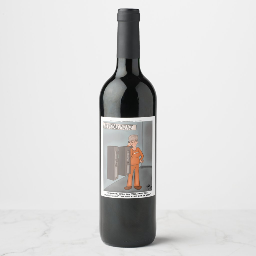 Girl's Night Out Wine label