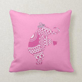 Girl s Pink Princess Cute Elephant American MoJo P Pillow