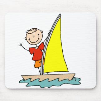 Girl Sailing Mousepad