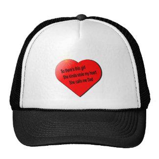 Girl sayin for Dad Trucker Hat