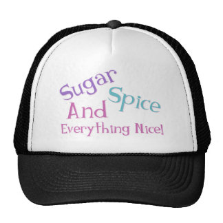 Girl Saying Hats