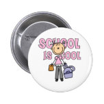 Girl School is Cool Button