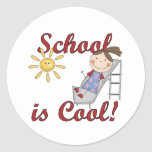 Girl School is Cool Tshirts and Gifts Sticker