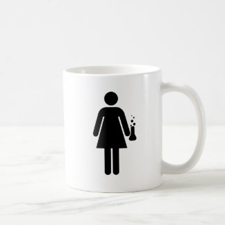 Girl Scientist Coffee Mug
