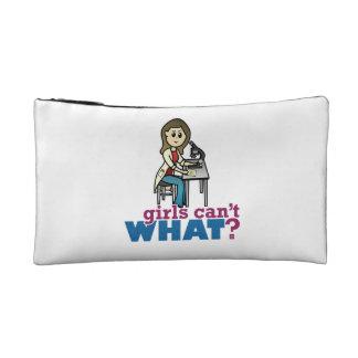 Girl Scientist Cosmetic Bag