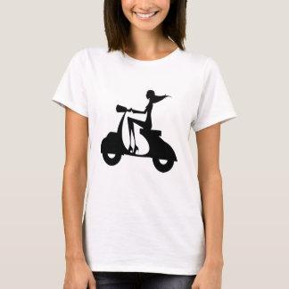 Girl Scooter 1 T-Shirt