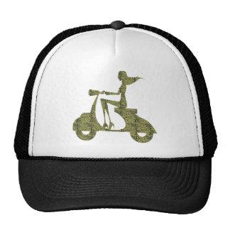Girl Scooter aligator Trucker Hat
