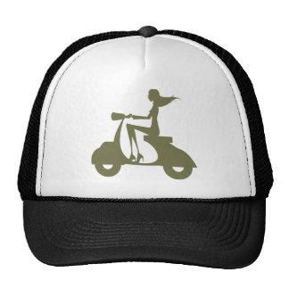 Girl Scooter od light Trucker Hat
