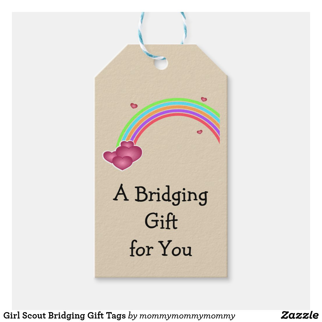 Girl Scout Bridging Gift Tags