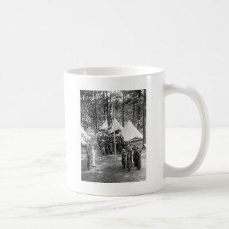 Girl Scout Flag-Raising: 1919 Coffee Mug