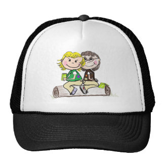 Girl Scout Junior Brownie Outdoors Trucker Hat