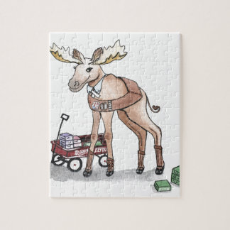 Girl Scout Moose Jigsaw Puzzle