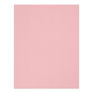 Girl Scrapbook Paper 3 Letterhead Template