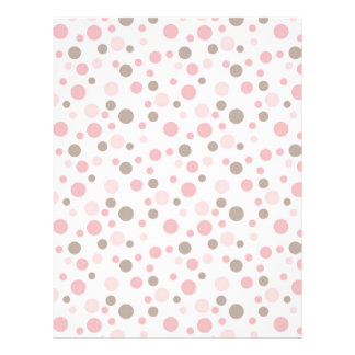 Girl Scrapbook Paper Letterhead Template