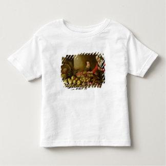 Girl selling grapes toddler t-shirt