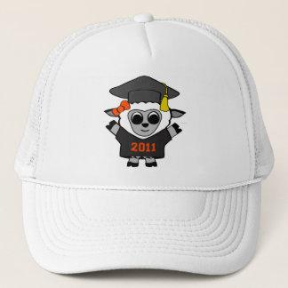 Girl Sheep Black & Orange 2011 Grad Trucker Hat