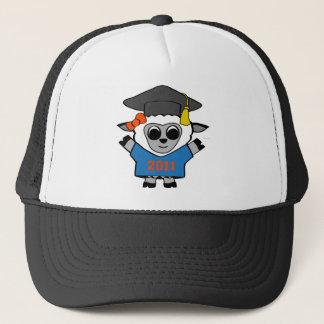 Girl Sheep Blue & Orange 2011 Grad Trucker Hat