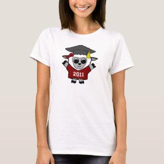 Girl Sheep Maroon & White 2011 Grad T-Shirt