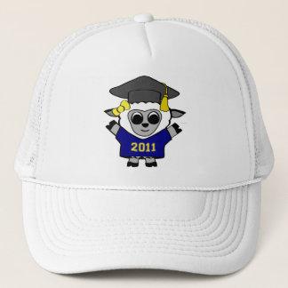 Girl Sheep Navy & Gold 2011 Grad Trucker Hat