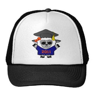 Girl Sheep Navy & Orange 2011 Grad Trucker Hat