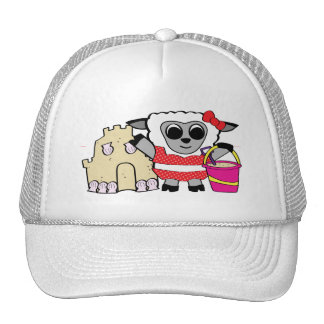Girl Sheep with Sandcastle Mesh Hat