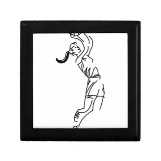 Girl Shooting Basketball Gift Box