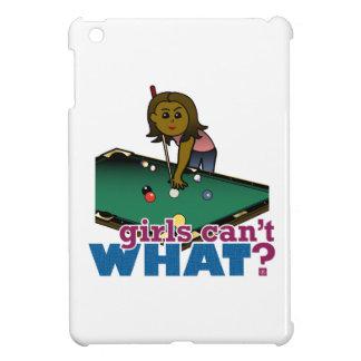 Girl Shooting Pool Case For The iPad Mini