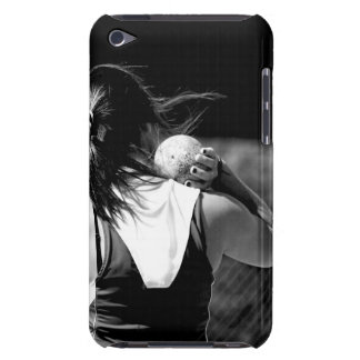 Girl Shotput thrower Barely There iPod Cover