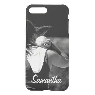 Girl Shotput thrower iPhone 8 Plus/7 Plus Case