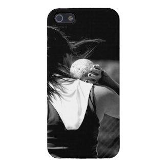 Girl Shotput thrower iPhone SE/5/5s Case