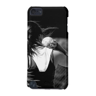 Girl Shotput thrower iPod Touch 5G Cover