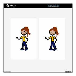 Girl Skins For Kindle Fire