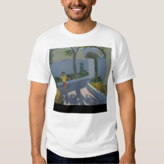 Girl Skipping Santorini 2002 Tee Shirt