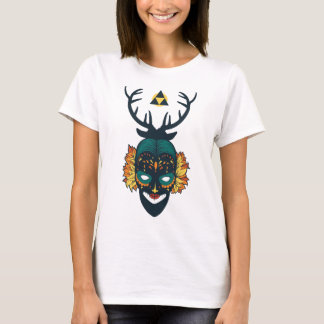 girl skull with deer antin T-Shirt